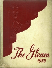 1953 Edition, Union High School - Gleam Yearbook (Union, SC)