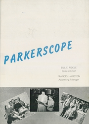 Page 7, 1945 Edition, Parker High School - Parkerscope Yearbook (Greenville, SC) online yearbook collection
