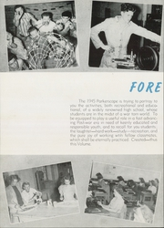 Page 8, 1945 Edition, Parker High School - Parkerscope Yearbook (Greenville, SC) online yearbook collection