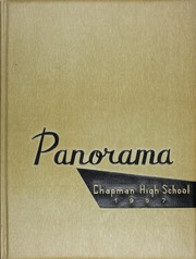 1957 Edition, Chapman High School - Panorama Yearbook (Inman, SC)