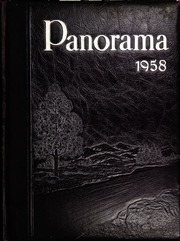 1958 Edition, Chapman High School - Panorama Yearbook (Inman, SC)