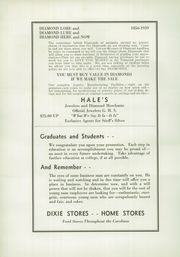 Page 148, 1939 Edition, Greenville High School - Nautilus Yearbook (Greenville, SC) online yearbook collection