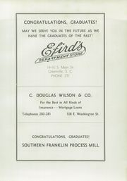 Page 149, 1939 Edition, Greenville High School - Nautilus Yearbook (Greenville, SC) online yearbook collection
