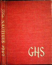 Page 1, 1942 Edition, Greenville High School - Nautilus Yearbook (Greenville, SC) online yearbook collection