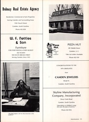Page 177, 1975 Edition, Camden High School - Gold and Black Yearbook (Camden, SC) online yearbook collection