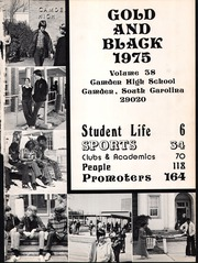 Page 5, 1975 Edition, Camden High School - Gold and Black Yearbook (Camden, SC) online yearbook collection