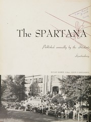 Page 6, 1950 Edition, Spartanburg High School - Spartana Yearbook (Spartanburg, SC) online yearbook collection