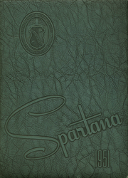1951 Edition, Spartanburg High School - Spartana Yearbook (Spartanburg, SC)