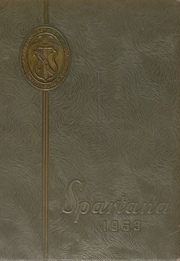 1953 Edition, Spartanburg High School - Spartana Yearbook (Spartanburg, SC)