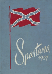 1957 Edition, Spartanburg High School - Spartana Yearbook (Spartanburg, SC)