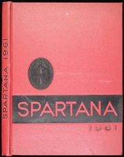 1961 Edition, Spartanburg High School - Spartana Yearbook (Spartanburg, SC)