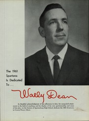 Page 15, 1961 Edition, Spartanburg High School - Spartana Yearbook (Spartanburg, SC) online yearbook collection