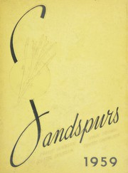 1959 Edition, North Augusta High School - Sandspurs Yearbook (North Augusta, SC)