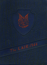 1944 Edition, Walterboro High School - Lair Yearbook (Walterboro, SC)