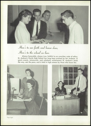 Page 12, 1960 Edition, St Andrews Parish High School - Pelican Yearbook (Charleston, SC) online yearbook collection