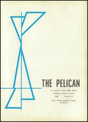 Page 5, 1960 Edition, St Andrews Parish High School - Pelican Yearbook (Charleston, SC) online yearbook collection