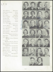 Page 17, 1940 Edition, Chester High School - Cestrian Yearbook (Chester, SC) online yearbook collection