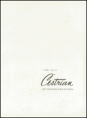 Page 5, 1940 Edition, Chester High School - Cestrian Yearbook (Chester, SC) online yearbook collection