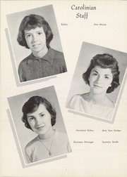 Page 10, 1960 Edition, Carolina High School - Carolinian Yearbook (Greenville, SC) online yearbook collection