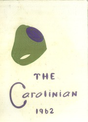 1962 Edition, Carolina High School - Carolinian Yearbook (Greenville, SC)