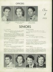 Page 14, 1951 Edition, Marion High School - Swamp Fox Yearbook (Marion, SC) online yearbook collection