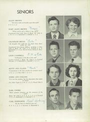 Page 15, 1951 Edition, Marion High School - Swamp Fox Yearbook (Marion, SC) online yearbook collection