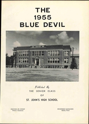 Page 5, 1955 Edition, St Johns High School - Blue Devil Yearbook online yearbook collection
