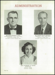 Page 10, 1956 Edition, Liberty High School - Devilier Yearbook (Liberty, SC) online yearbook collection