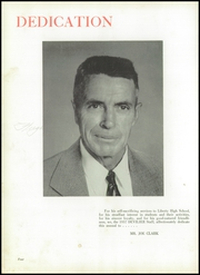 Page 8, 1957 Edition, Liberty High School - Devilier Yearbook (Liberty, SC) online yearbook collection