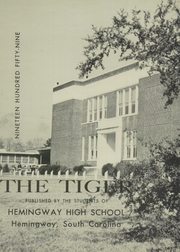 Page 6, 1959 Edition, Hemingway High School - Tiger Yearbook (Hemingway, SC) online yearbook collection
