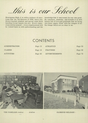 Page 8, 1959 Edition, Hemingway High School - Tiger Yearbook (Hemingway, SC) online yearbook collection