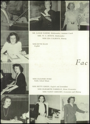 Page 10, 1949 Edition, Winyah High School - Gator Yearbook (Georgetown, SC) online yearbook collection