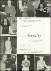 Page 12, 1949 Edition, Winyah High School - Gator Yearbook (Georgetown, SC) online yearbook collection