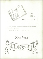Page 13, 1949 Edition, Winyah High School - Gator Yearbook (Georgetown, SC) online yearbook collection