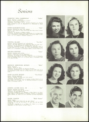 Page 15, 1949 Edition, Winyah High School - Gator Yearbook (Georgetown, SC) online yearbook collection