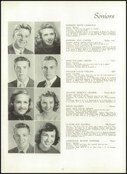 Page 16, 1949 Edition, Winyah High School - Gator Yearbook (Georgetown, SC) online yearbook collection