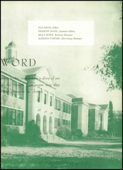 Page 7, 1949 Edition, Winyah High School - Gator Yearbook (Georgetown, SC) online yearbook collection