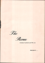Page 5, 1956 Edition, Aynor High School - Revue Yearbook (Aynor, SC) online yearbook collection