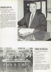 Page 11, 1959 Edition, Latta High School - Lattatude Yearbook (Latta, SC) online yearbook collection