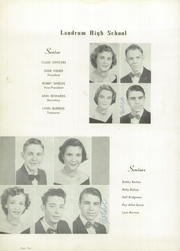 Page 14, 1952 Edition, Landrum High School - Bagpipe Yearbook (Landrum, SC) online yearbook collection