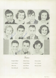 Page 17, 1952 Edition, Landrum High School - Bagpipe Yearbook (Landrum, SC) online yearbook collection