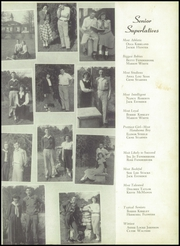 Page 15, 1950 Edition, Buford High School - Echo Yearbook (Lancaster, SC) online yearbook collection