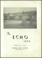 Page 5, 1950 Edition, Buford High School - Echo Yearbook (Lancaster, SC) online yearbook collection