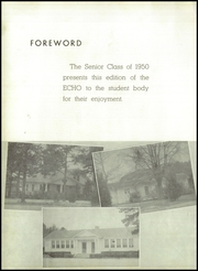 Page 6, 1950 Edition, Buford High School - Echo Yearbook (Lancaster, SC) online yearbook collection