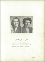 Page 7, 1950 Edition, Buford High School - Echo Yearbook (Lancaster, SC) online yearbook collection
