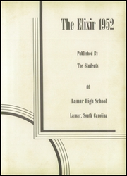 Page 7, 1952 Edition, Lamar High School - Elixir Yearbook (Lamar, SC) online yearbook collection