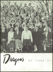 Page 15, 1950 Edition, York High School - White Rose Yearbook (York, SC) online yearbook collection