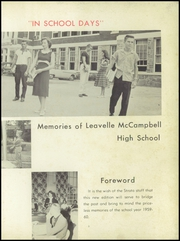 Page 7, 1960 Edition, Leavelle McCampbell High School - Strata Yearbook (Graniteville, SC) online yearbook collection