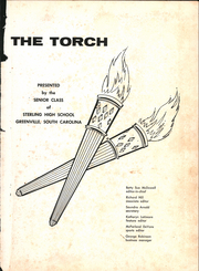 Page 5, 1962 Edition, Sterling High School - Torch Yearbook (Greenville, SC) online yearbook collection