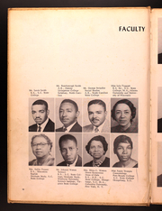 Page 12, 1961 Edition, Carver High School - Tiger Yearbook (Spartanburg, SC) online yearbook collection